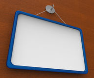 Blank Noticeboard Copyspace Shows Display Space Stock Images