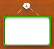 Blank Noticeboard Copyspace Shows Display Space Royalty Free Stock Photos
