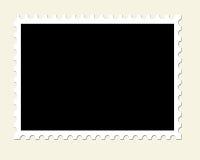 blank oanvänd portostämpel Royaltyfria Bilder