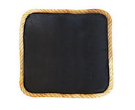 Blank old blackboard Royalty Free Stock Photography