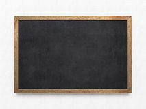 Blank old blackboard Stock Images
