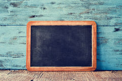 Blank old blackboard Stock Image