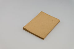 Blank old book  on white background with copy space Royalty Free Stock Photography