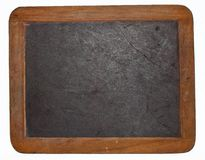 Blank old chalkboard Royalty Free Stock Photo