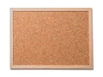 Blank old corkboard Stock Image