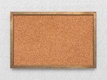 Blank old corkboard Royalty Free Stock Photography