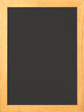 Blank Old fashioned chalkboard. Blank Old fashioned blackboard with wooden frame with room for copy Stock Photos