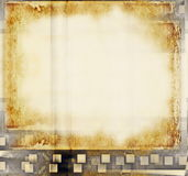 Blank old grunge film strip Stock Images
