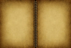 Blank Old Note book Royalty Free Stock Image