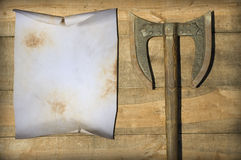 Blank old parchment Royalty Free Stock Images