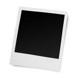 Blank old photo frame Stock Images