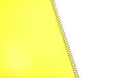 Blank one face white paper notebook Royalty Free Stock Photo