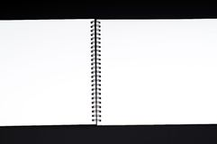 Blank open book Royalty Free Stock Image