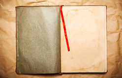 Blank open book Royalty Free Stock Photos