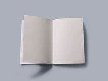 Blank open book Royalty Free Stock Photography