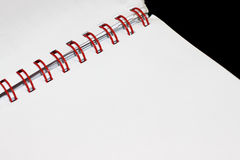 Blank open book. Royalty Free Stock Photography