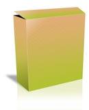 Blank Open Box. A Cute blank textured Open Box Stock Photo