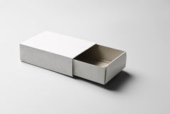 Blank open box Royalty Free Stock Photos