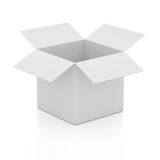 Blank open box Stock Photography