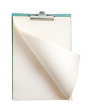 Blank open notepad Stock Photos