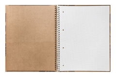 Blank open ring binder Stock Photo