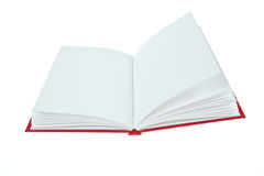 Blank opened book Royalty Free Stock Photos