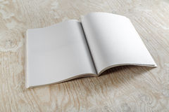 Blank opened booklet Royalty Free Stock Photography