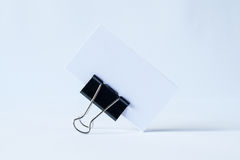 Blank opened folder  on white Royalty Free Stock Photography