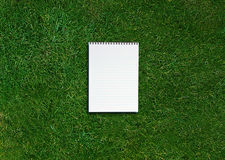 Blank opened notebook Stock Images