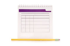 Blank Organizer Royalty Free Stock Photos