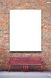 Blank outdoor advertising billboard Royalty Free Stock Image
