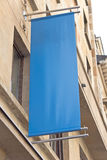 Blank outdoor banner Royalty Free Stock Image