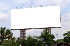 Blank outdoor billboard Stock Photography