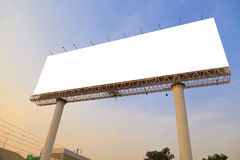 Blank outdoor billboard Stock Photos
