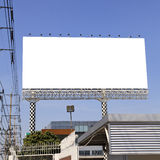 Blank outdoor billboard Stock Photography