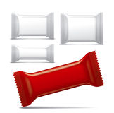 Blank package collection Stock Photo
