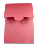 Blank package of red box isolated Royalty Free Stock Photo