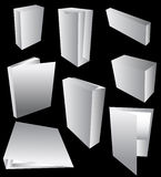 Blank Packaging Stock Photo