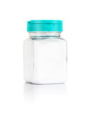 Blank packaging salt bottle isolated on white background Royalty Free Stock Images