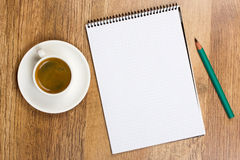 Blank Pad Of Paper Stock Images