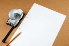 Blank page Royalty Free Stock Image