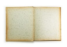Blank page of an 1950s photo album. stock photography