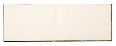 Blank page of note book Royalty Free Stock Photos