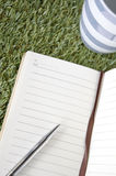 Blank page of notebook Stock Photos