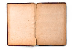 Blank page of old book Stock Photography