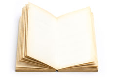Blank Page Old Book Royalty Free Stock Images