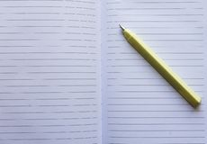 Blank page royalty free stock photography