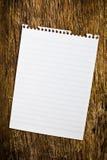 Blank page sketchbook Stock Image