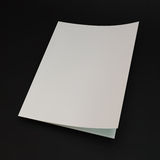 Blank page template for design layout. 3d vector Royalty Free Stock Photos
