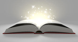 Blank Paged Magical Book Royalty Free Stock Image